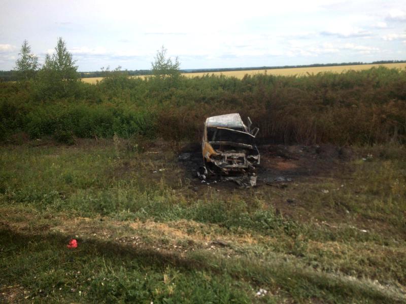Стали известны подробности аварии на трассе «Тамбов-Шацк» с участием зерновоза
